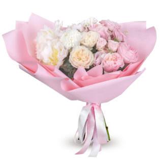 Букет «Пионовидные розы»