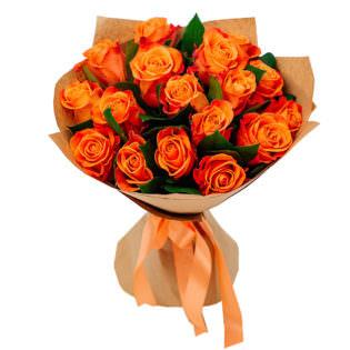 Букет «Поцелуй розы»
