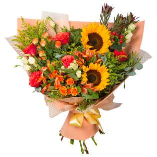 Букет «Солнечные цветы»
