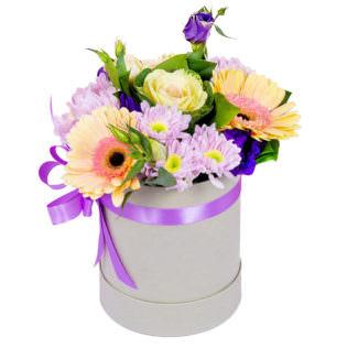 Цветы в коробке «Волшебная сказка»